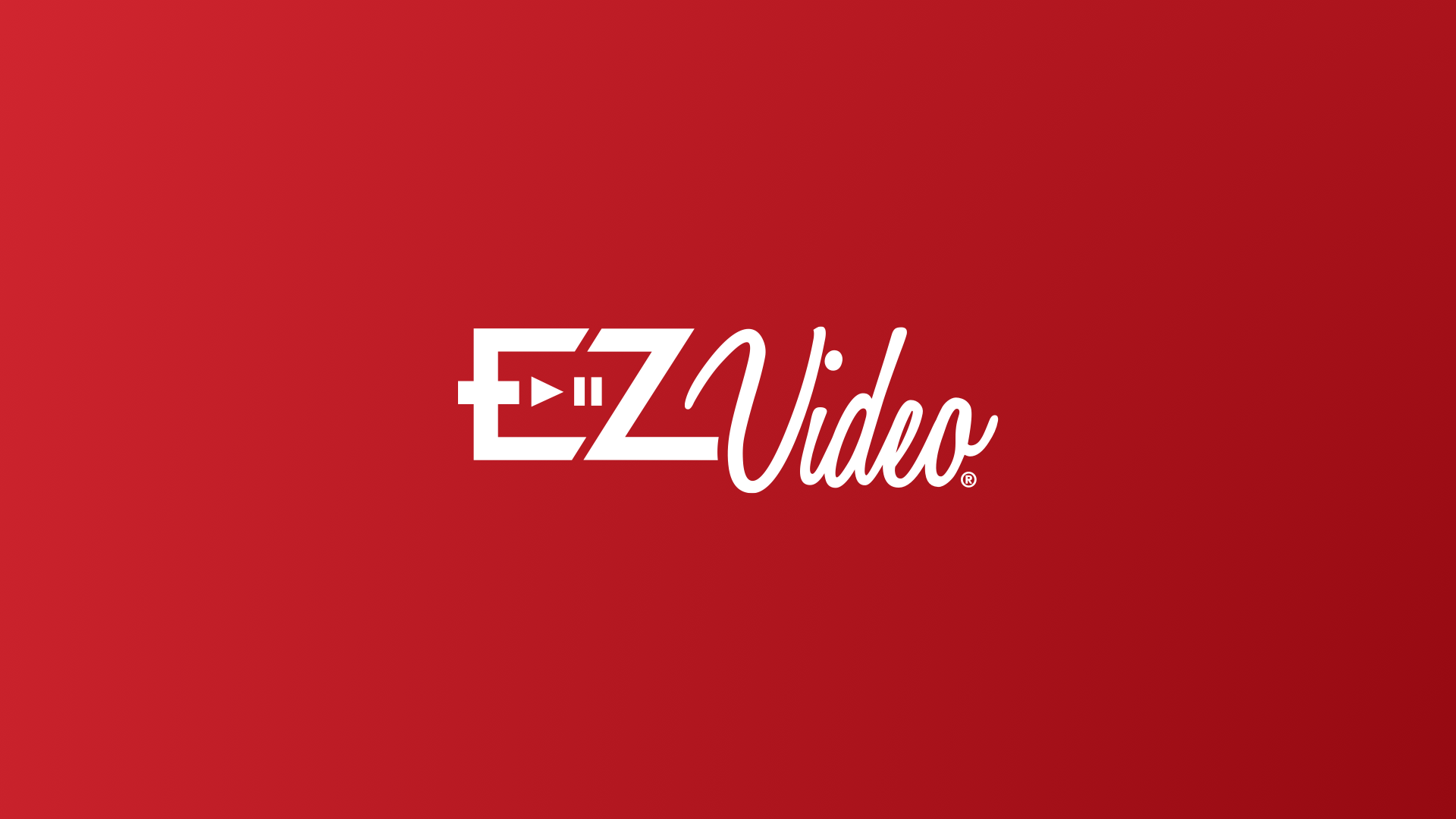 EZVideo Main Menu